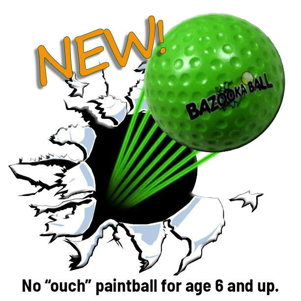 NEW Bazooka Ball!